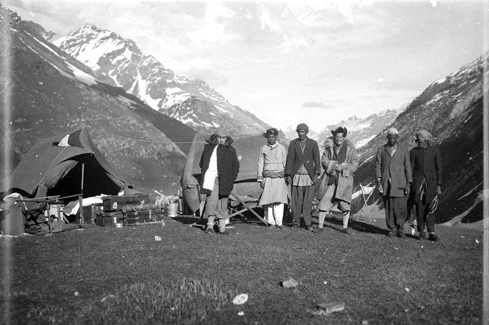 La spedizione Tucci sul passo di Rohtang (Himalaya indiano), 1933