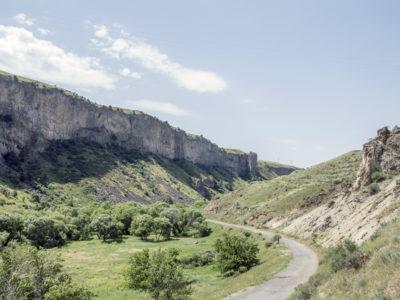 Fig. 3. Una valle nel Vayots Dzor.