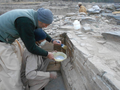 Restauri in corso a Saidu Sharif I
