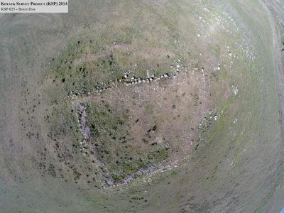 Fig. 9. Berdi dar (KSP 025). Veduta aerea della fortezza.