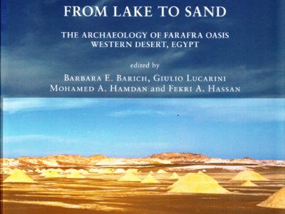 """Il Volume """"From Lake to Sand di B.E.Barich, G.Lucarini, M.A.Hamdan, F.A.Hassan."""