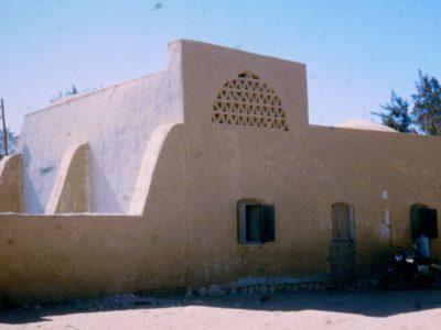 Oasi di Farafra. Esempio di  tipica architettura  dell'oasi