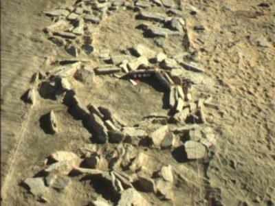 Oasi di Farafra. Fondi di capanna circolari nel Villaggio di Hidden Valley