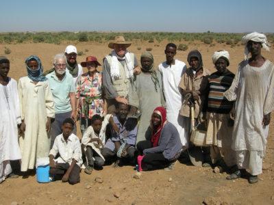 Abu Erteila (Sudan), Parte del gruppo di lavoro della stagione  2015 (foto Lobban).