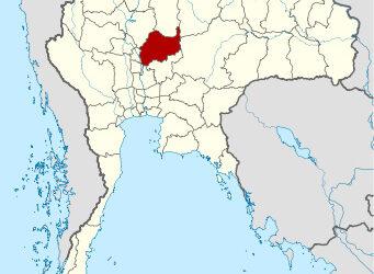 La provincia di Lopburi nella Tailandia centrale.