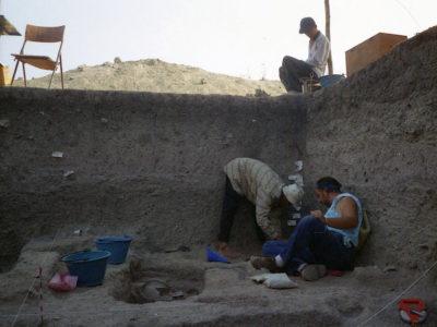 Tha Kae: scavo del livello necropolare dell'Età del Ferro