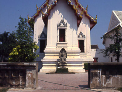 Il Padiglione Chanthara Phisan, già residenza di Re Narai (1633-1688) è oggi sede di speciali eventi espositivi del Museo Nazionale del Palazzo di Re Narai