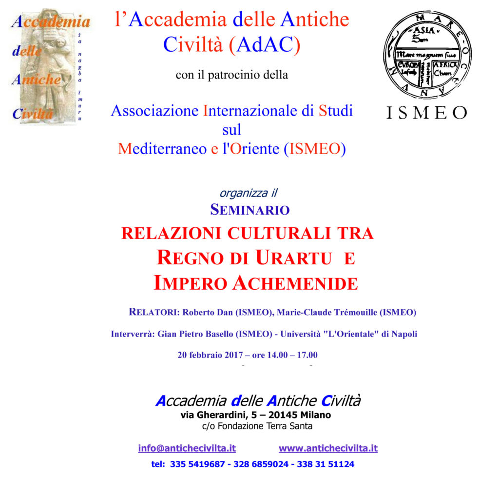 4a seminario urartu-Achemenidi