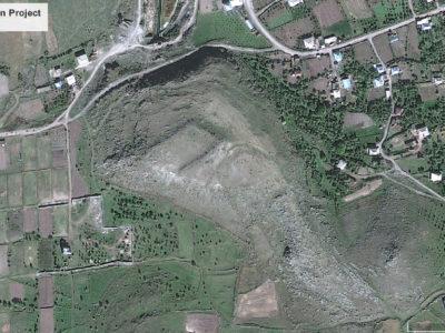Fig. 1. Immagine satellitare della fortezza di Tsovinar.