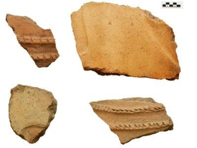 Fig. 16. Solak 1. Frammenti di pithoi urartei trovati sulla superficie del sito.