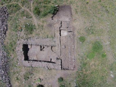 Fig. 7. Solak 1. Foto aerea della fortezza (scavi 2015).