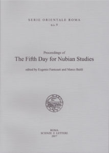 The Fifth Day for Nubian Studies