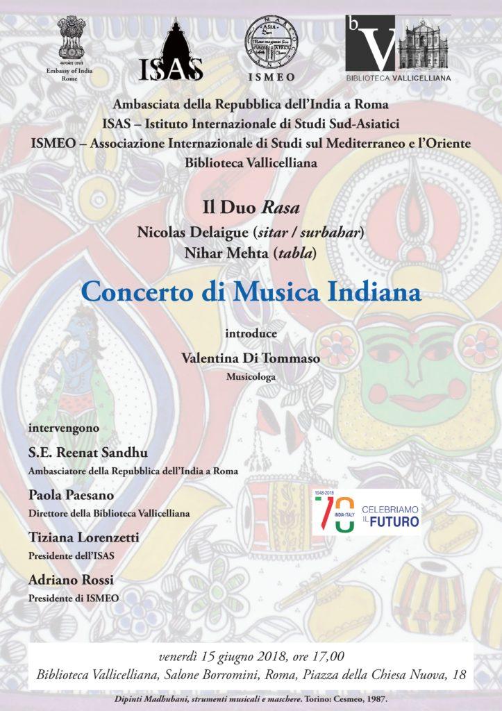 Locandina Concerto Il Duo Rasa