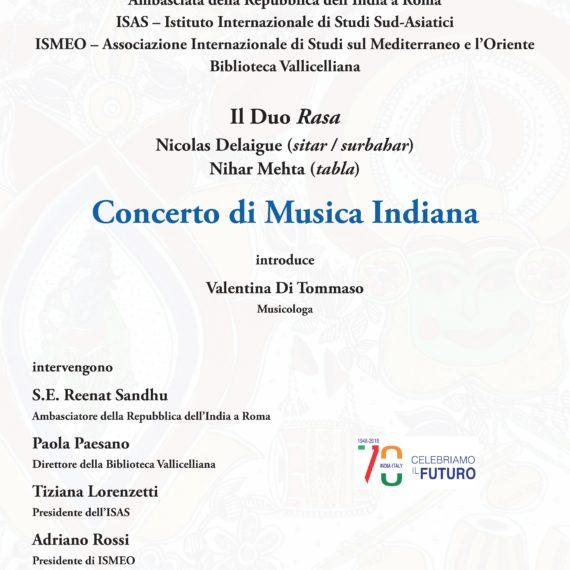 Locandina Concerto Vallicelliana