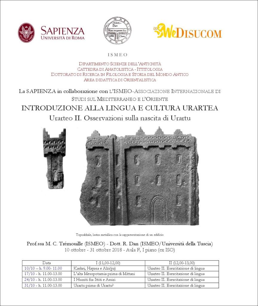 Urartu a La Sapienza