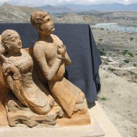 Donor couple from the Buddhist site of Tepe Narenj (second half of the 1st millennium CE)