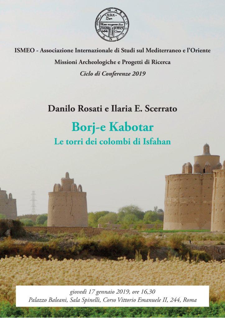 ISMEO - Conferenza Rosati-Scerrato
