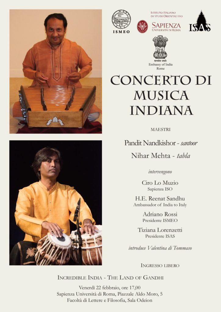 Locandina Concerto 22 febbraio