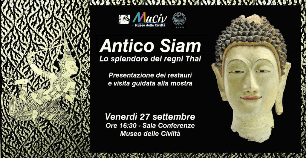 Conferenza Antico Siam al MuCiv