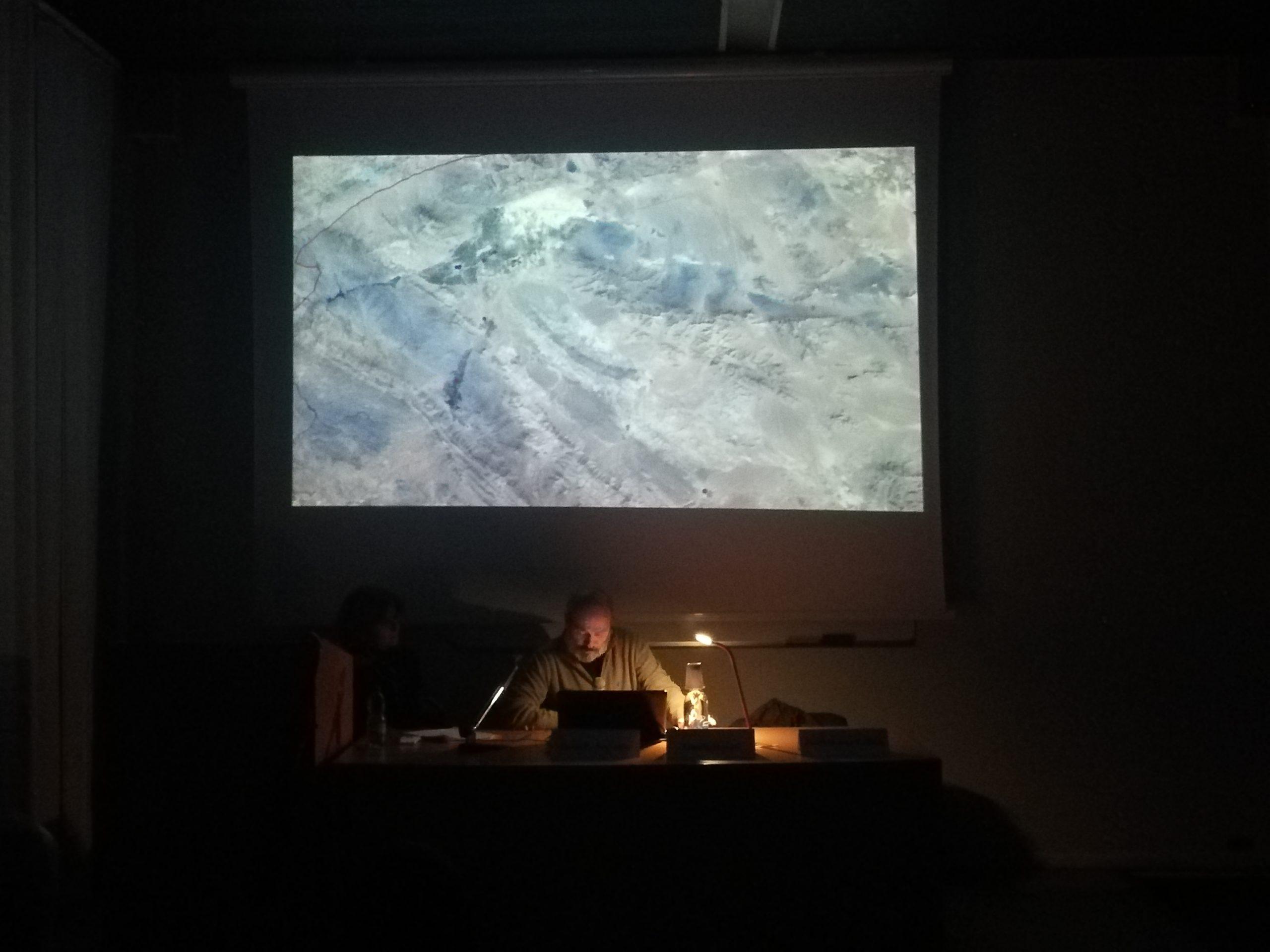 Il dott. Rosati sugli aspetti archeologici del sito.