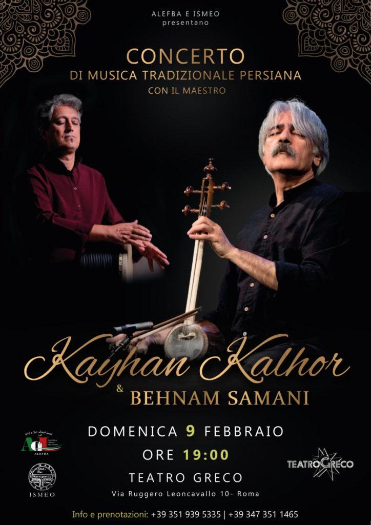 Concerto Musica Persiana