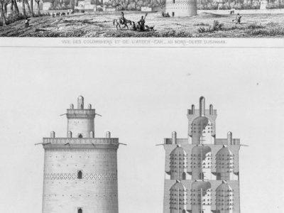 05 Dettagli di una torre dei piccioni, da Pascal Coste, 1867.